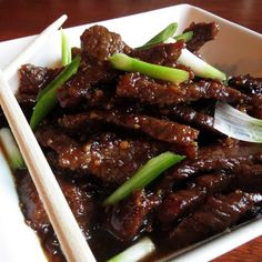 P.F. Chang's Knock Off Mongolian Beef