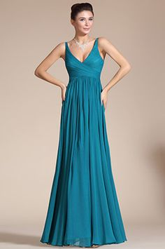 71ff99aa10e8 Elegant V-cut Evening Dress Prom Ball Gown (C00120805)