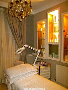Treatment room at Beauty Works #CrouchEnd #N8 – Beauty Works London