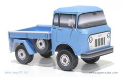 Willy's Jeep FC-150 | papercruiser.com