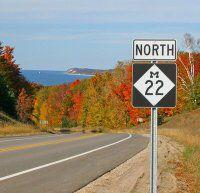 The 11 Best Fall Road Trips From Detroit - Michigan Tourist Destinations - Thrillist Detroit Michigan, Detroit Downtown, Lago Michigan, Fall In Michigan, State Of Michigan, Northern Michigan, Michigan Facts, Manistee Michigan, Michigan Vacations