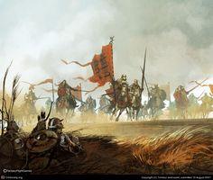 Knights CGTalk - Army of Scorpions, Tomasz Jedruszek (2D)