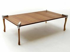 In case of zombie apocalypse - Woodsman Axe Coffee Table Zombie Attack, Cool Tables, Table Legs, Shtf, Ping Pong Table, Amazing, Just In Case, Dining Bench, Sweet Home