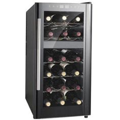 SPT SPT 13 1/2 in. 18-Bottle Thermoelectric Wine Cooler with Dual Zone and Heating-WC-1857DH at The Home Depot $199.00