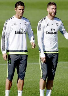 Cristiano Ronaldo y Sergio Ramos - Real Madrid #halamadrid #cr7 #sr4