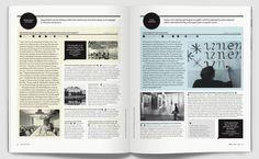 Spreads from print magazine (Jessica Walsh)