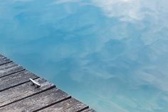 Abstract Nature Photography Dreamy Water Sky by LittleRedHairGirl, $35.00 for downstairs bath (summer)