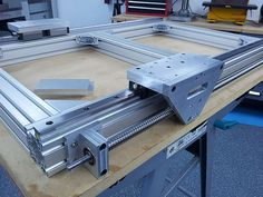 Build Thread cnc router , aluminum frame , pics only ... Router Sled,