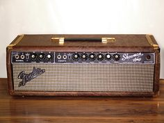 Customized Vintage Fender Showman Guitar Amp (1960s)