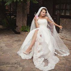 """Прекрасная невеста в платье """"Алина""""  #wedding #dress #Одесса #свадьба #bride #marriage #невеста #платье #салон"""