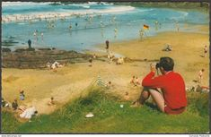 Crooklets Beach, Bude, Cornwall, c.1960s - Constance Postcard
