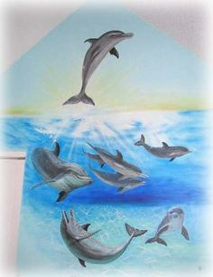1000 images about quotes on pinterest dolphins pool for Dolphin paradise wall mural