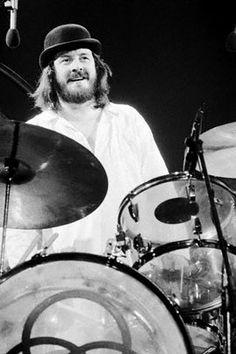 John Bonham,drummer,led zeppelin.Later in life his son joined in with Zeppelin.
