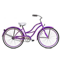 Micargi Tahiti Beach Cruiser, Purple, 26-Inch - http://www.bicyclestoredirect.com/micargi-tahiti-beach-cruiser-purple-26-inch/