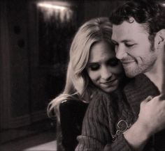 "The Vampire Diaries - Candice Accola as Caroline Forbes & Joseph Morgan as Niklaus ""Klaus"" Mikealson"