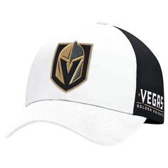 newest 269c5 6ca89 adidas Vegas Golden Knights White Structured Adjustable Hat  goldenknights   nhlvegas  nhl