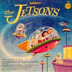"""The Jetsons"" Golden 'New York Cast' Album (1962) | Cartoon Research"