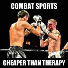 Issues. I have lots of them. #CombatSports #MMA #MuayThai #Kickboxing #K1 #Issues #Therapy #Fighting #Sadist #Pain