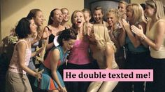 double texting LOL