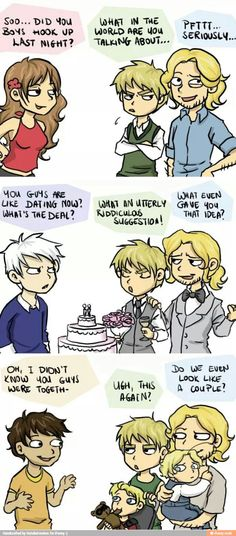 I don't ship FrUK but this is too funny!!