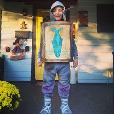 DIY Boxtrolls costume!