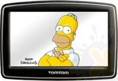 GPS z Homerem