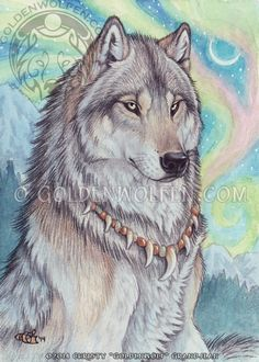 Angelica, or Angel, female, is an angel wolf, she protects the inoscent and helps heal the injured both physical and mental injuries, she is kind, loving and quiet, if u spot her it is a rare sight to see but don't think u are dead because she is in fact real, knows Isaac very well do to him being the Guardian to hell (me)