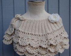 Bridal capelet bridal shawl bridal shurg wedding от denizy03