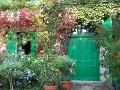 Entry to Monet's home in Giverney