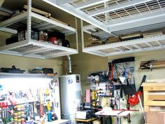 Imagine your clean garage! Get rid of what you don't need and let us help you organize the rest.