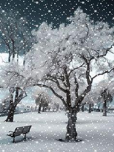 Зимняя - анимация на телефон №1352374