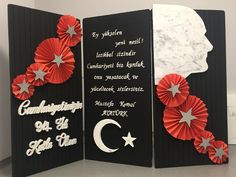 Atatürk Earth Day Projects, School Projects, Art Projects, Diy And Crafts, Crafts For Kids, Arts And Crafts, Class Bulletin Boards, Art Rules, Paper Crowns