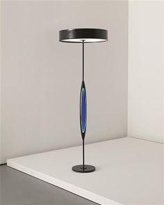 Max Ingrand, Standard Lamp #2251 for Fontanan Arte, c1961.