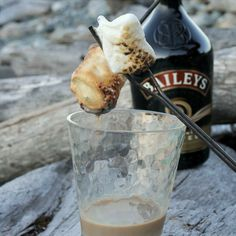 Dip them in Bailey's. | 39 S'mores Hacks That Will Change Your Life