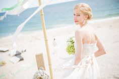 Aubrey   www.kaneandsocial.com  Wedding. Dress. Bride. Beach. New York.