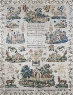 A 19th Century English Sampler