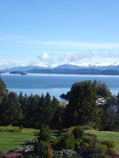 Vista desde la habitación =). Llao Llao, Bariloche, Argentina