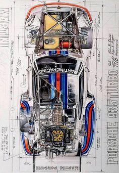 Porsche Classic, Classic Cars, Porsche Autos, Porsche 935, Porsche Cars, Sport Cars, Race Cars, Hyundai Suv, Martini Racing