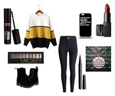 """""""Untitled #88"""" by alexisdance0420 on Polyvore featuring H&M, Dr. Martens, Forever 21, Marc Jacobs and NARS Cosmetics"""