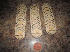 No Reserve - 33 Antique Milk Caps - WELLAND DAIRY & SILVERWOODS