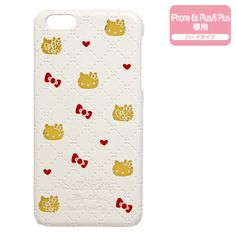 Hello Kitty iPhone 6 6s Plus Hard Cover Case Heart SANRIO JAPAN