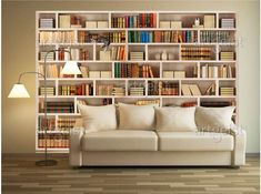 Fototapete Home library 43128