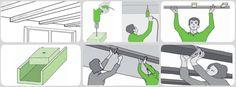 Decora y da un nuevo estilo a tu hogar instalando vigas decorativas en paredes y techos abuhardillados.