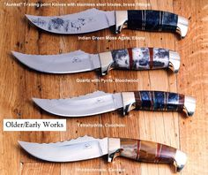 Point hunting knife