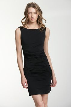 Dress in gauzy whisper by Velvet.  In Delia's Boutique now.  603-431-0076