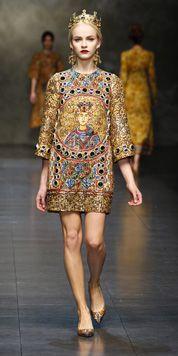 Dolce & Gabbana   Sfilata Donna - Autunno/Inverno 2014