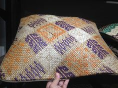 pillow case made from tikog