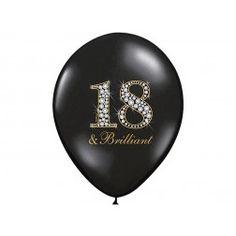 Luftballone 18. Geburtstag 6Stück