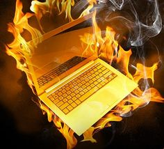I FIRED MY LAPTOP. NOW YOU CAN FIRE YOURS TOO.  What does this mean to you?  Come and see CLICK ON BURNING LAPTOP NOW!!!