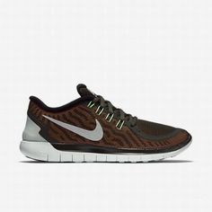 online retailer 02613 92de3  127.66 orange nike free 5.0,Nike Womens Sequoia Voltage Green Hyper Orange Reflect  Silver Free 5.0 Flash Running Shoe
